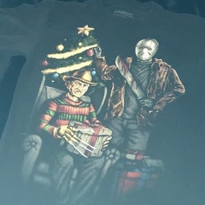 Freddy Krueger and Jason Christmas T-shirt